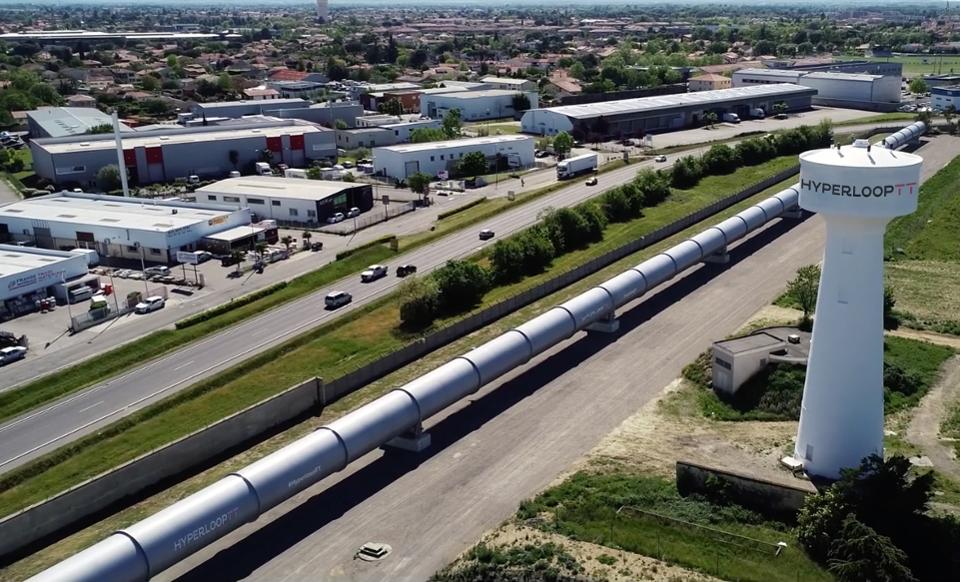The HyperloopTT test system in Toulouse, France