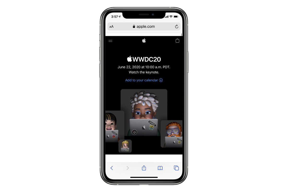 wwdc20 iphone stream
