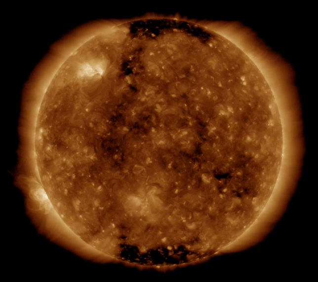 The sun could be waking up to a new solar cycle (Nasa)