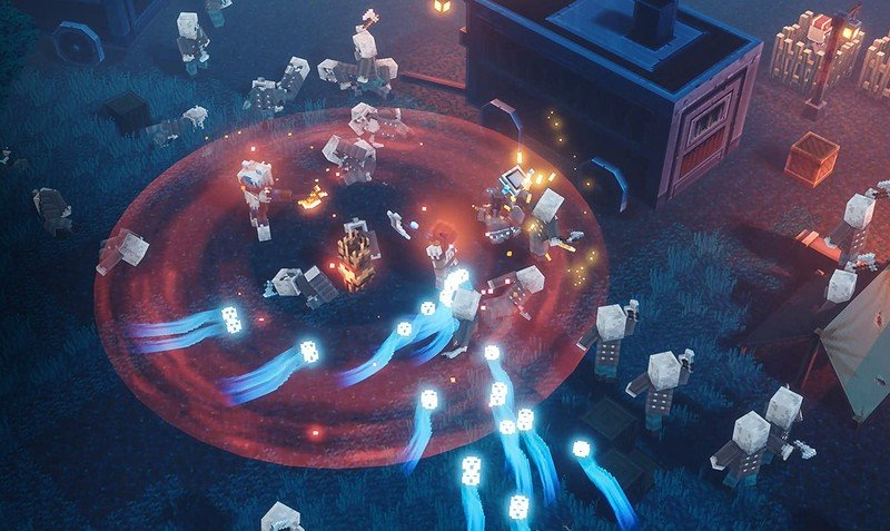 Minecraft Dungeons Souls Banner