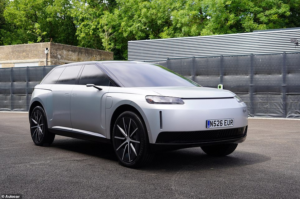 The Dyson electric car that never was: More images have been revealed of Sir Jame Dyson's axed EV project, which was scrapped last October after being deemed 'not commercially viable'
