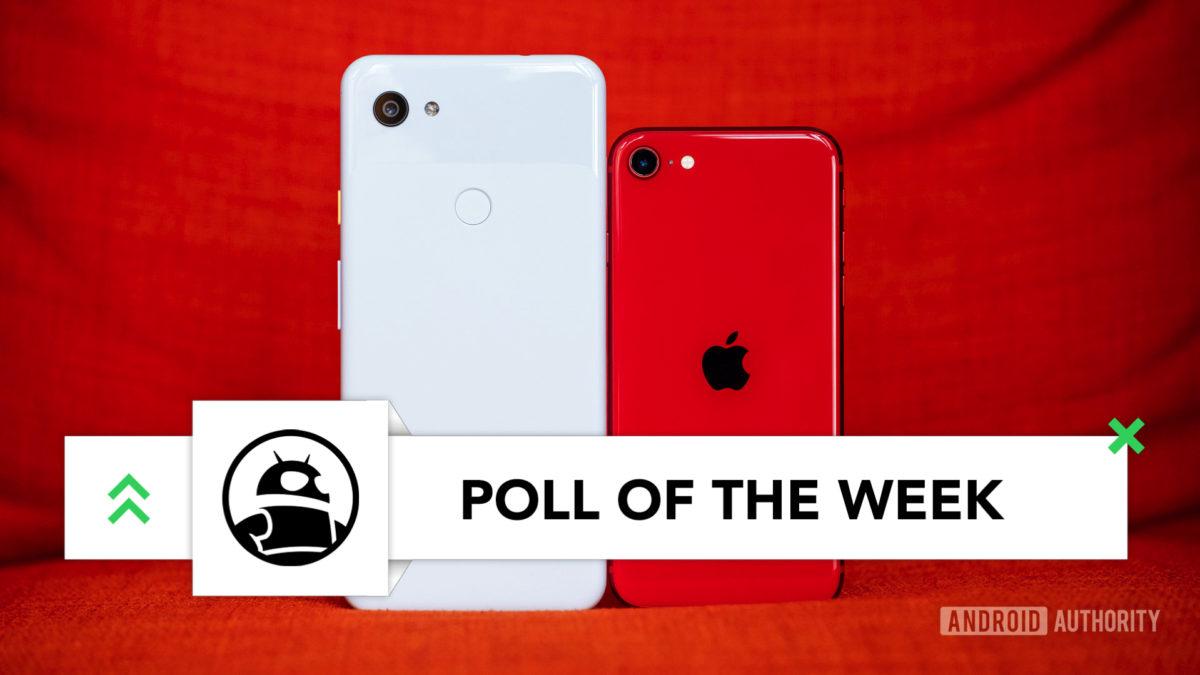 iPhone SE back vs Pixel 3a XL imp