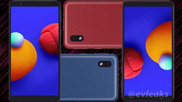 Samsung Galaxy A01 Press Renders Surface Online