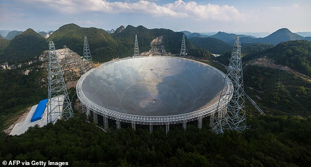 The Five-hundred-meter Aperture Spherical Telescope (FAST) in Guizhou, China is the world's largest single-aperture radio telescope, and will start its search for signs of alien life in September