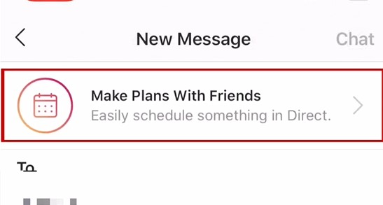 make plans with friends