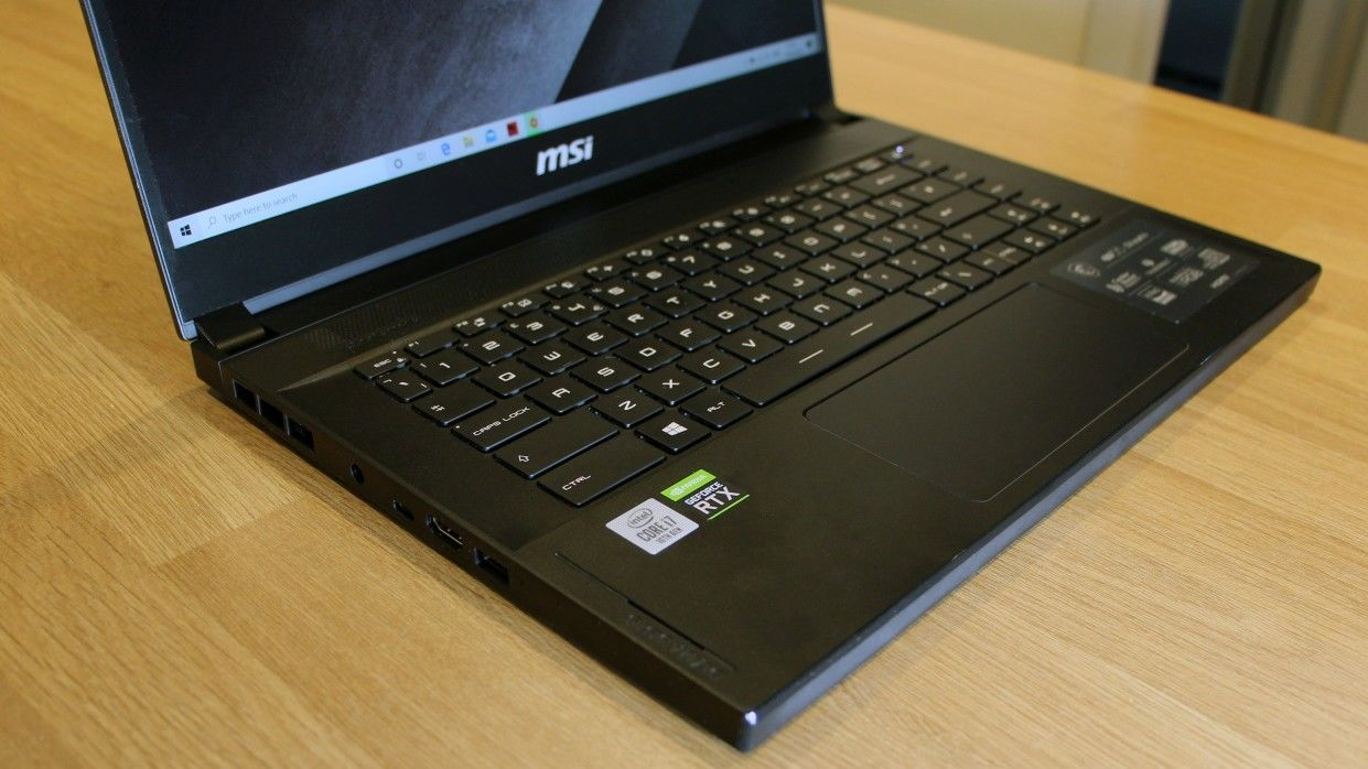 MSI GS66 Stealth portable gaming laptop