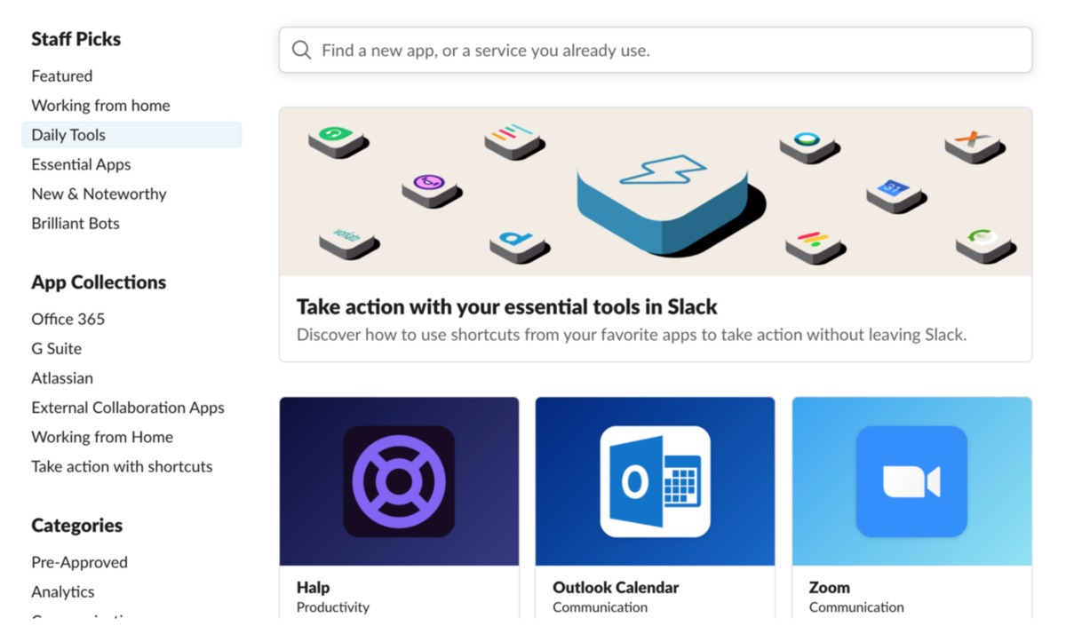 Slack curated lists 2020