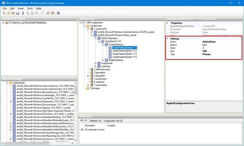 Windows Recovery (WinRE) partition