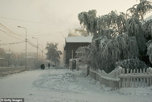 Yakutsk, Siberia is described as the second coldest large city in the world, with average yearly temperatures of 16.2 degrees Fahrenheit, and winters that drop as low as minus 40 degrees