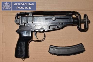 Guns were also seized