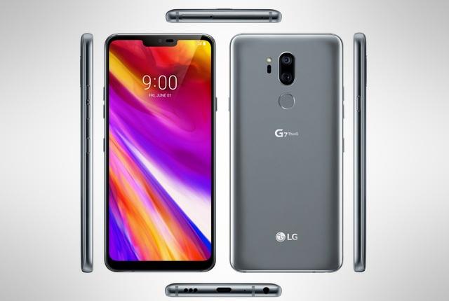 LG G7 ThinQ all angles
