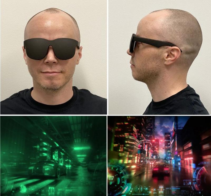 2 x Facebook future VR Gaming Glasses