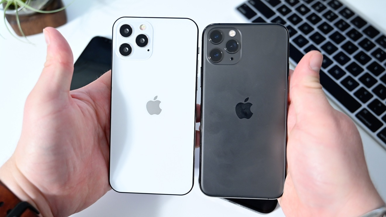 iPhone 12 Pro and iPhone 11 Pro