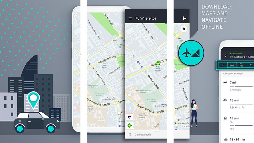 Here WeGo is one of the best navigation apps for android
