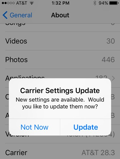carrier-setting-update