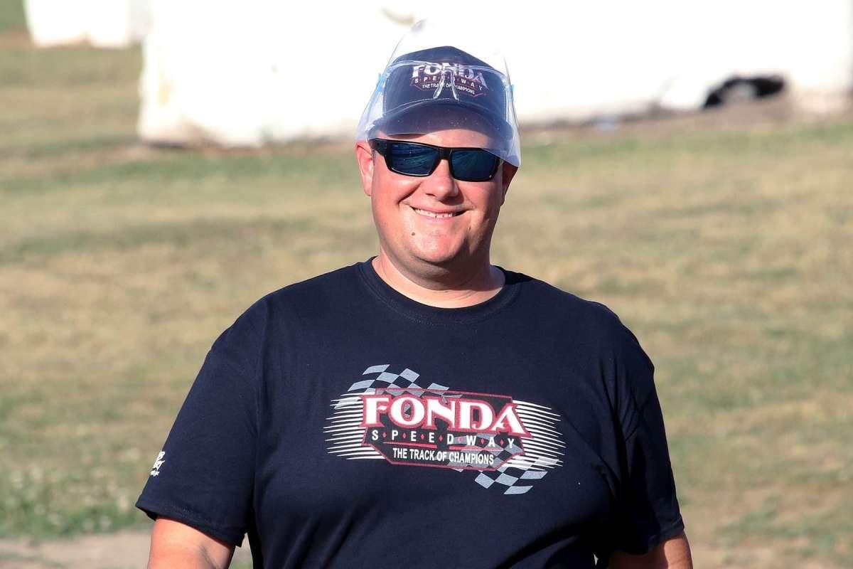 Fonda Speedway promoter Bretty Deyo. (Courtesy of JB Photography)