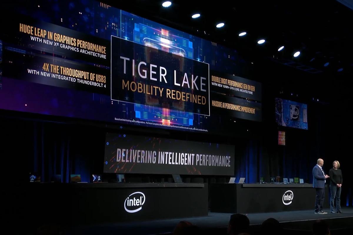 intel tiger lake announcement ces 2020