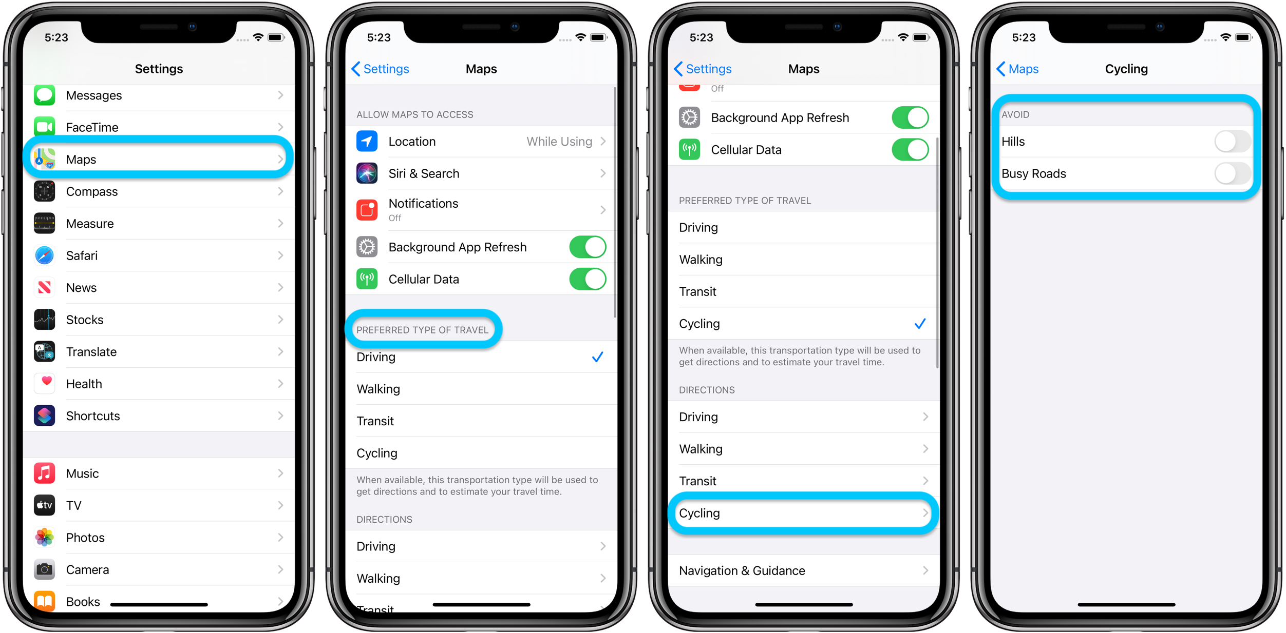 How to use Apple Maps cycling directions in iOS 14 walkthrough 2