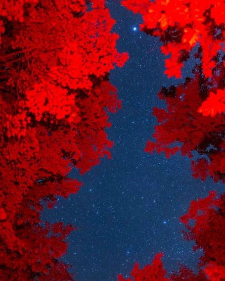 The night sky at Stellafane.