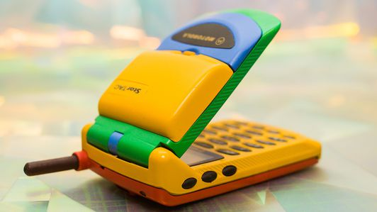 Motorola StarTAC first flip phone