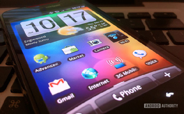 HTC Sense UI Android skin