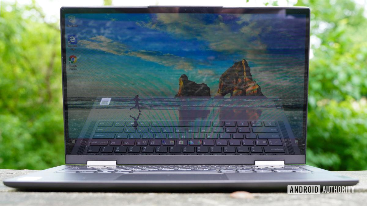 Lenovo Flex 5G front view