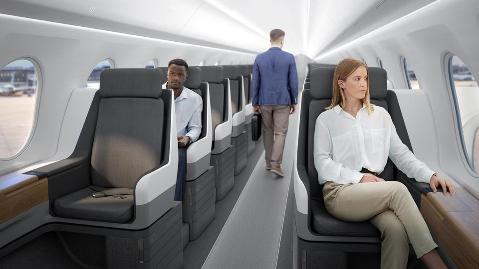 Boom's supersonic Overture will feature an all-business class cabin.