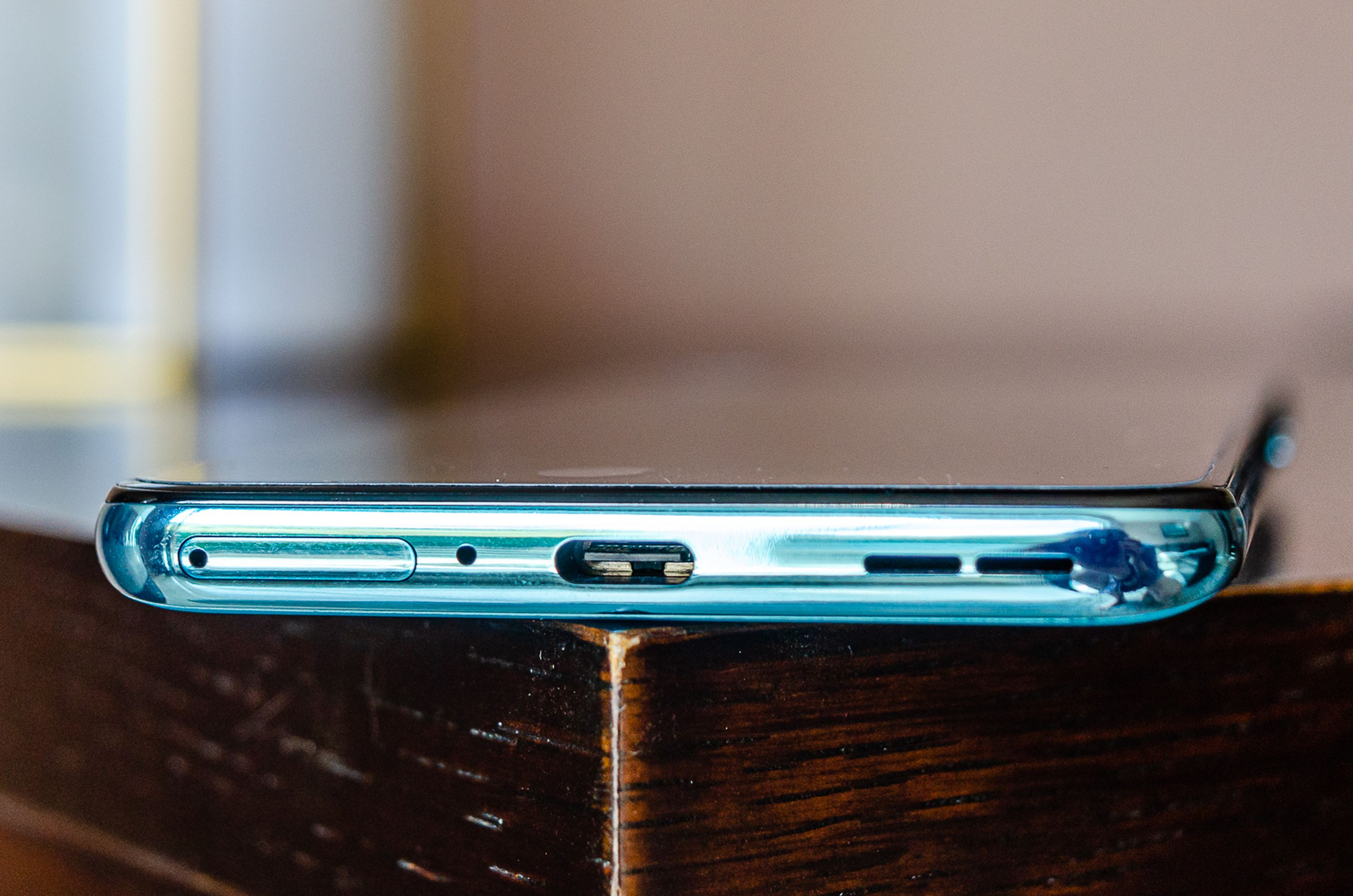 Sadly, there's no headphone jack.