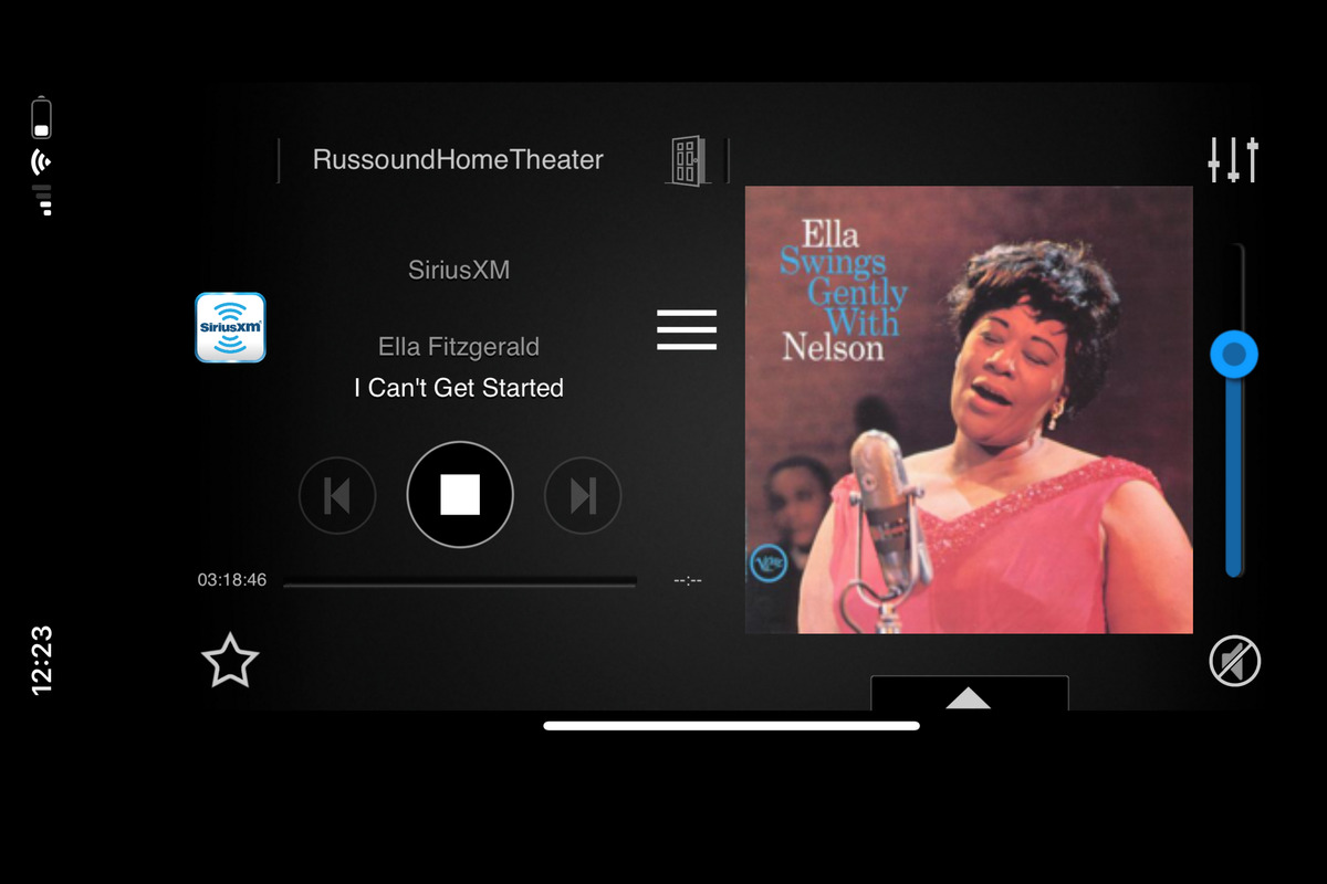 russound app screenshot 1