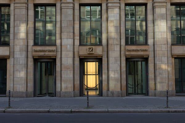 A Deutsche Bank branch in Berlin.