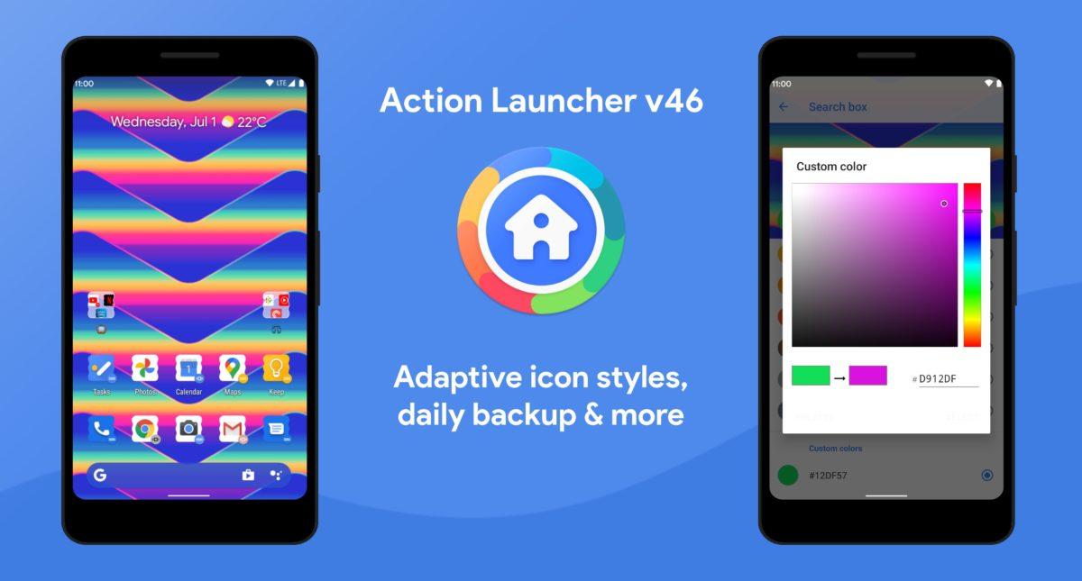 action launcher version 46