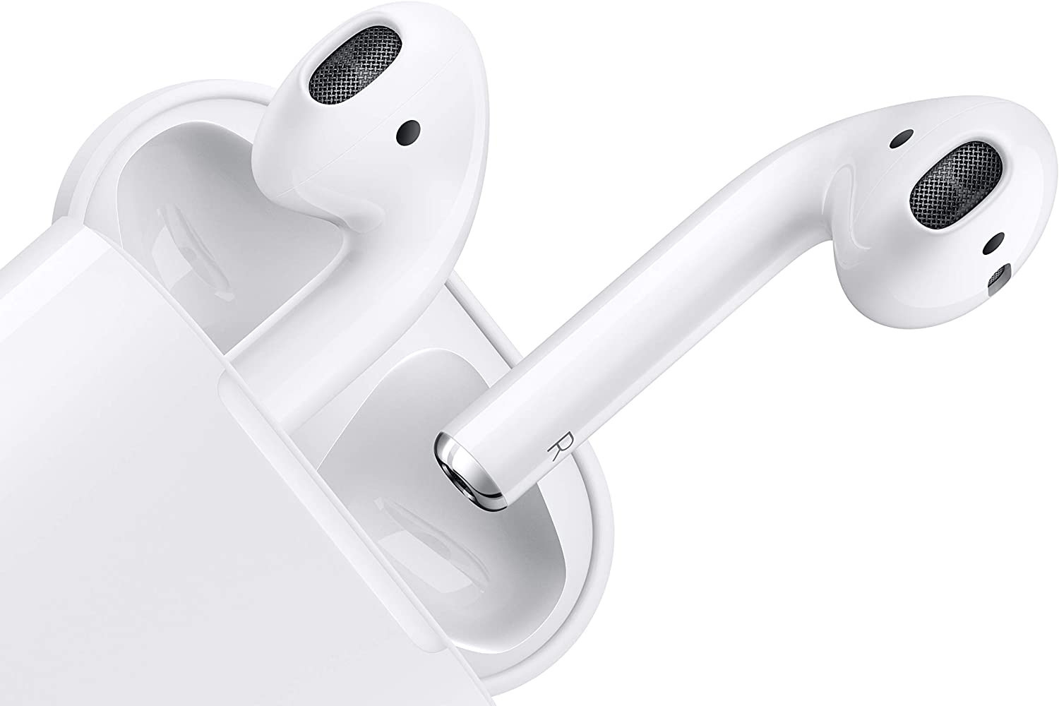 Apple's AirPods are wireless earbuds that connect to your iPhone