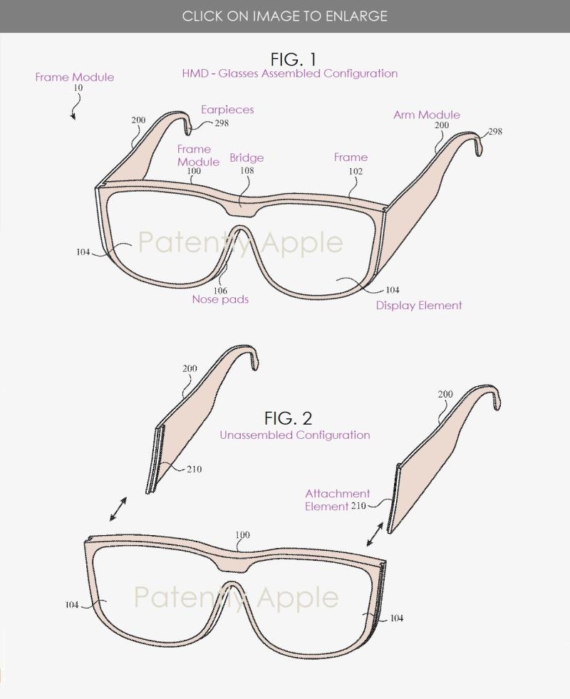 1 extra apple modular glasses