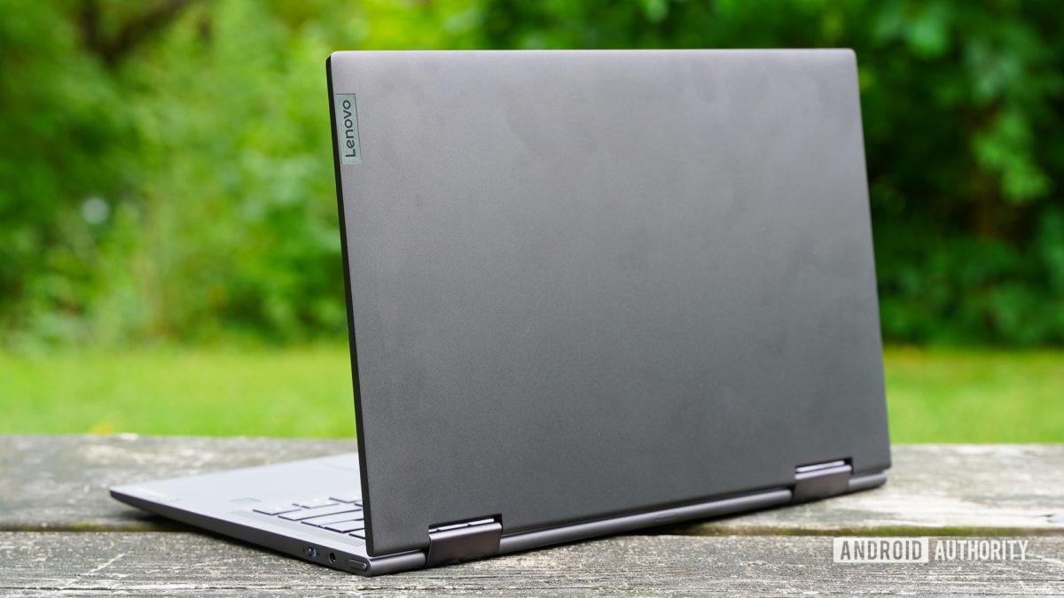 Lenovo Flex 5G rear panel