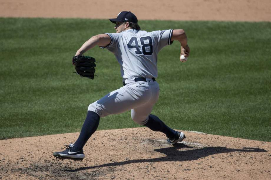New York Yankees relief pitcher Tommy Kahnle throws during the eighth inning of a baseball game against the Washington Nationals at Nationals Park, Sunday, July 26, 2020, in Washington. Photo: Alex Brandon, AP / Copyright 2020 The Associated Press. All rights reserved.