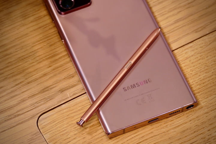 Galaxy Note 20 Ultra S Pen Back