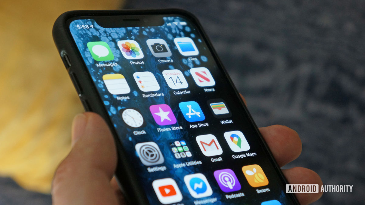 apple iphone xs iOS 13
