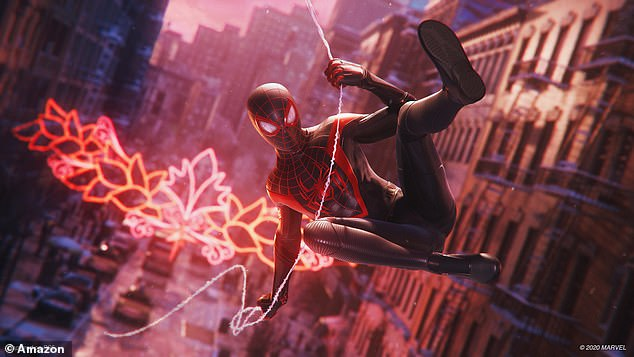 Marvel's Spider-Man: Miles Morales is one of the titles available to buy on the PS5 release date