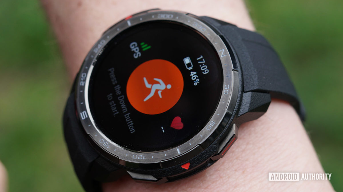 Honor Watch GS Pro track workout