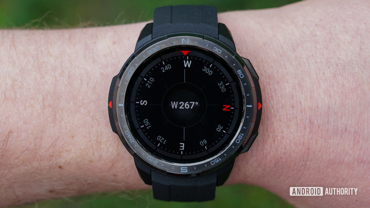 Honor Watch GS Pro compass