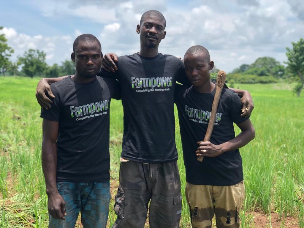 Local farmers supported by Farmpower
