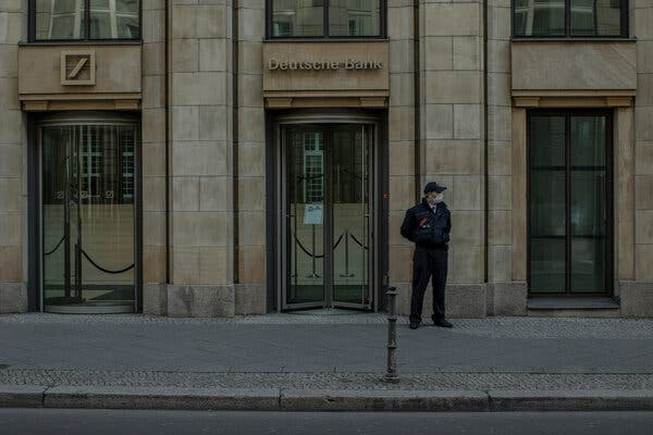 Deutsche Bank will close 100 out of 500 domestic branches as part of an effort to cut costs.