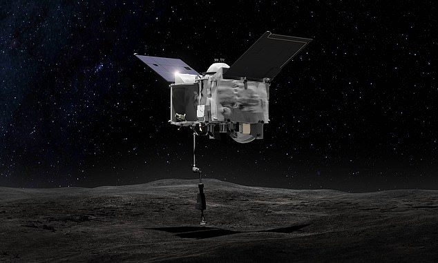 NASA launched OSIRIS-Rex (Origins, Spectral Interpretation, Resource Identification and Security Regolith Explorer) to asteroid Bennu in 2018 to study the object up close