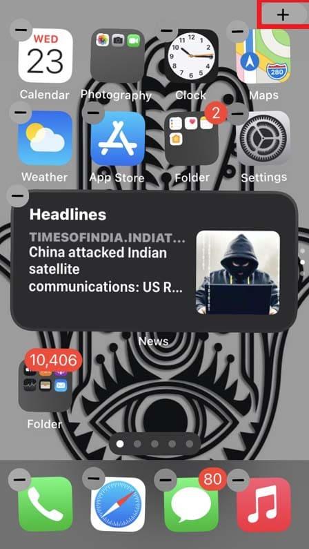 jiggle mode on iPhone
