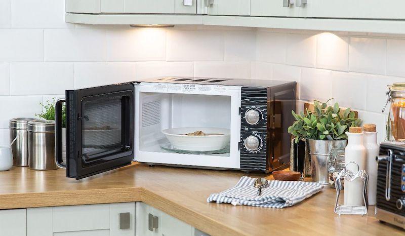 Inspire microwave interior