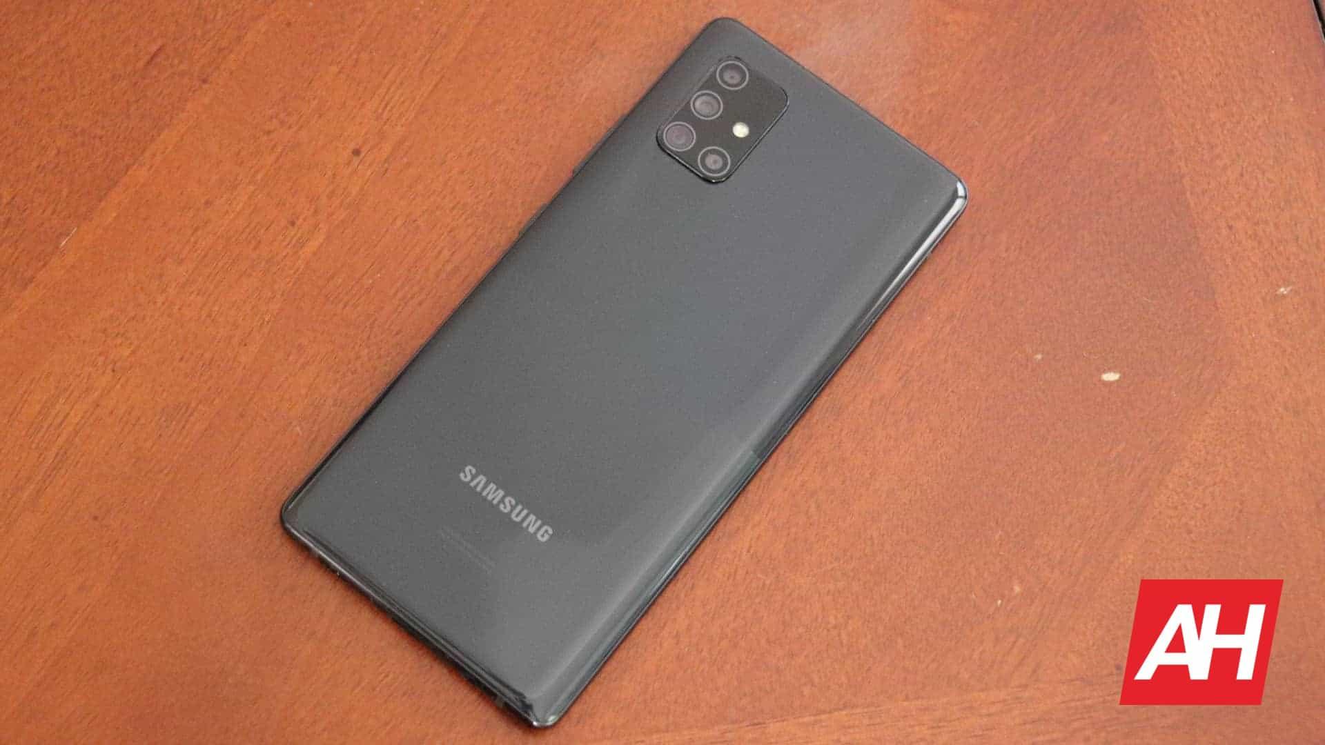01 Samsung Galaxy A71 5G Hardware Review AH 2020