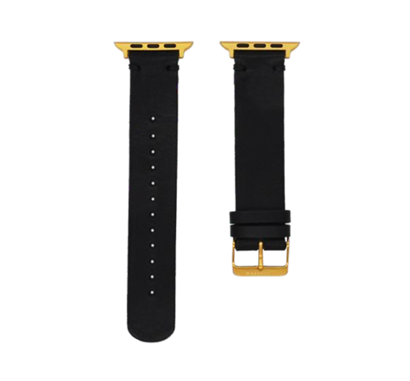Southern Straps Black Leather