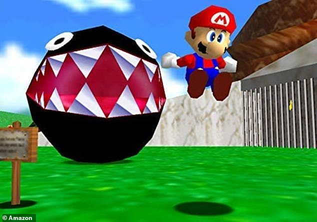 Super Mario 64 sees the iconic Nintendo character journey through a 3D world with 15 levels to rescue Princess Peach from Bowser