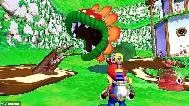 Encounter unique enemies in the optimised Super Mario Sunshine in Super Mario 3D All-Stars