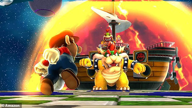 In order to reach Bowser and Peach, Mario must power up the observatory by collecting 121 stars across 42 levels